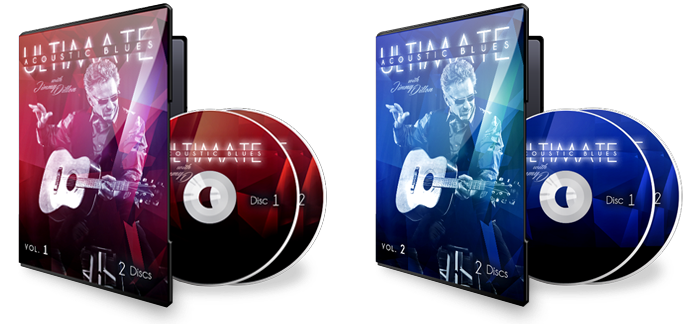 Ultimate Acoustic Bluesn DVD's